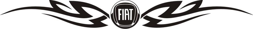 Samolepka FIAT v tattoo I.