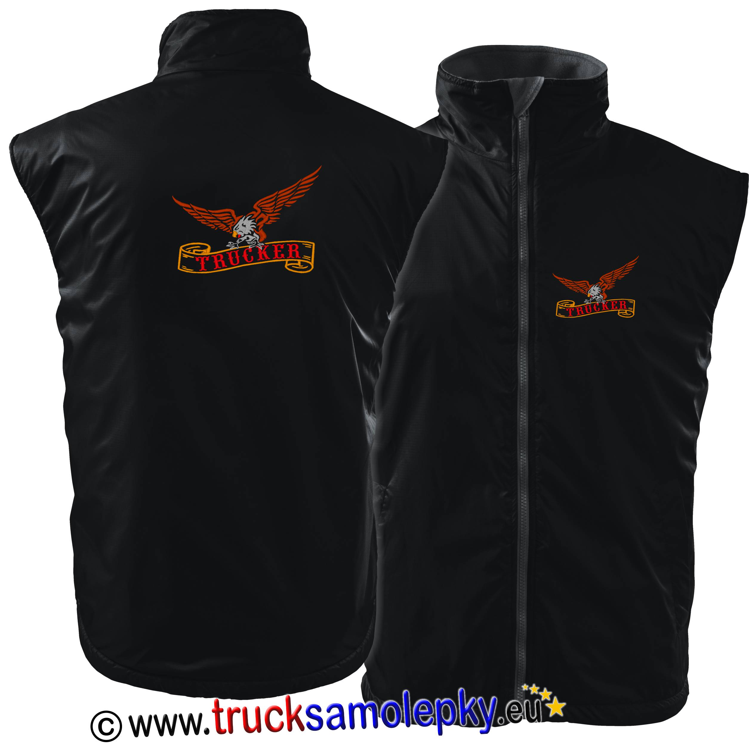 Vesta body warmer TRUCKER ORLICE
