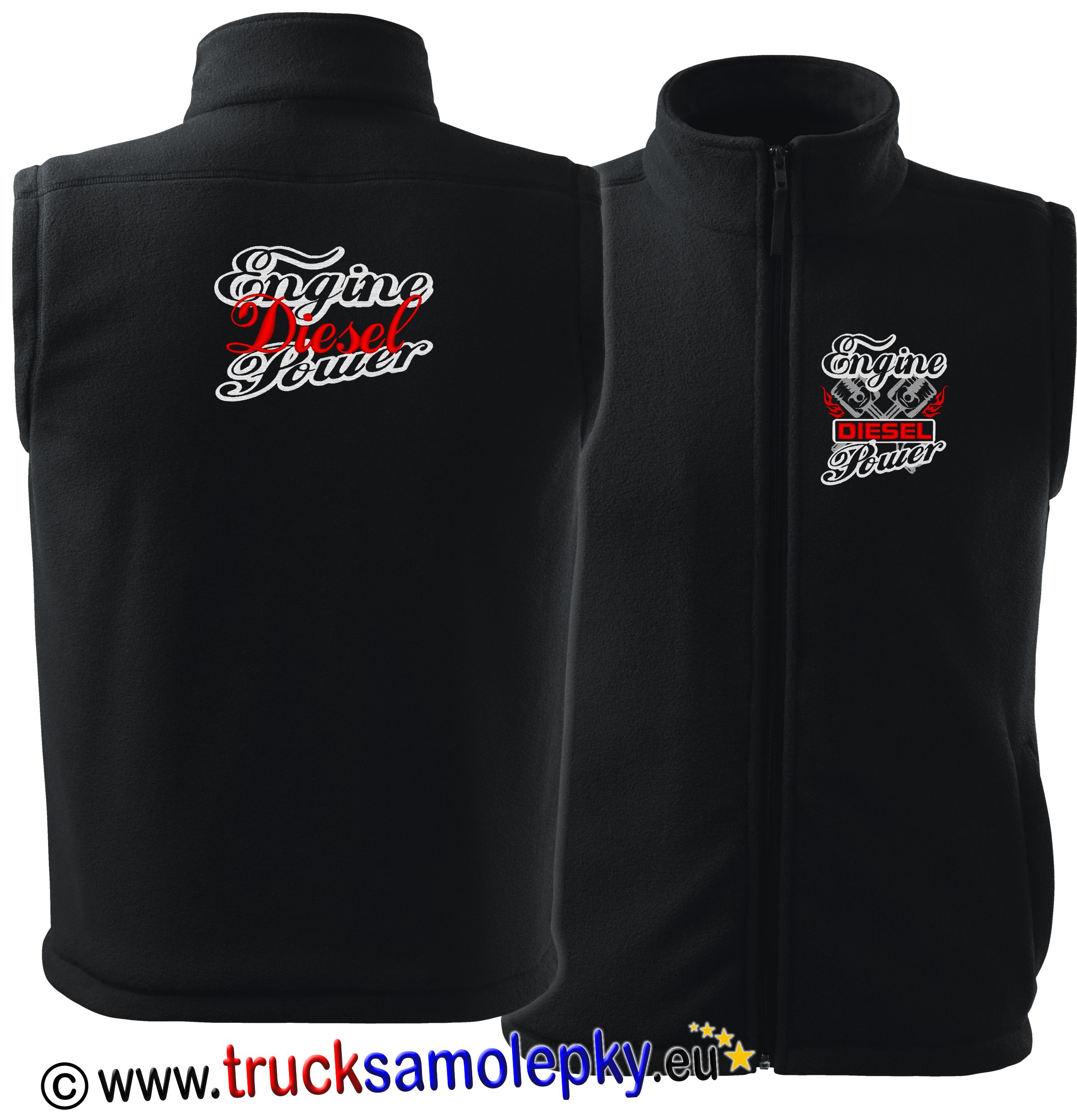 Truck fleece vesta ENGINE DIESEL POWER