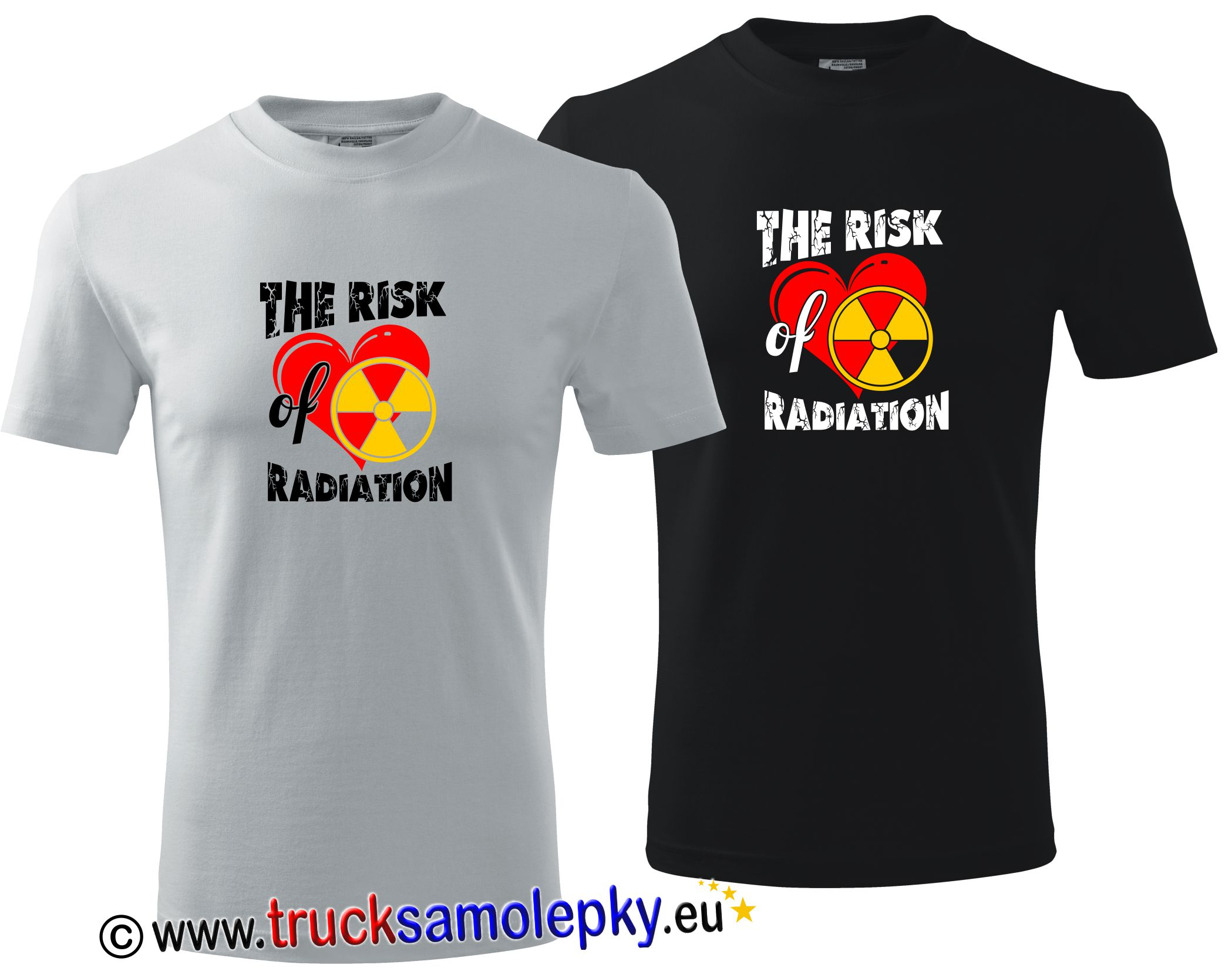 Tričko THE RISK RADIATION