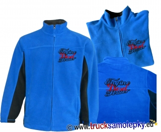 Truck mikina fleece ENGINE DIESEL POWER